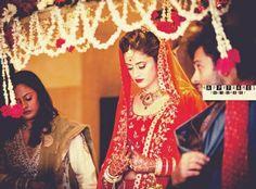 Mihika with bro mishkat verma in her wedding