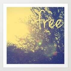 """""""Free"""" Art Print by Devin Stout. I really like this one!"""