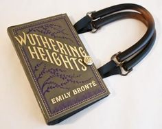 Wuthering Heights book purse (available in Jane Eyre & Dracula too!)