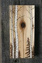 Wood Profit - Woodworking - tree art 5 Discover How You Can Start A Woodworking Business From Home Easily in 7 Days With NO Capital Needed! Wood Burning Crafts, Wood Burning Patterns, Wood Burning Art, Wood Burning Projects, Arte Pallet, Pallet Art, Birch Tree Art, Wood Tree, Pine Tree