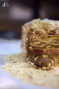 #pastel #milhojas #pasteleria #cafeteria #manjar #frambuesa