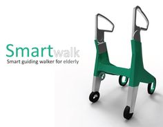 electrical fold-able walker