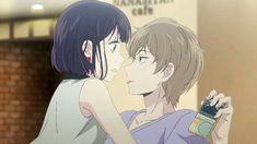 Mugi and Hanabi - Kuzu no Honkai Kuzu No Honkai Hanabi, Scums Wish, Manga Anime, Otaku, Best Animes Ever, Shoujo, Anime Love, Anime Couples, Youtube