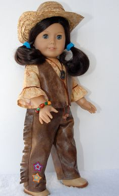 American Girl 18 inch Doll Clothes Leather by TwirlyGirlDollDesign, $29.99