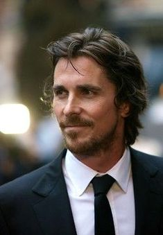 Christian Bale amazing actor and probably the hottest man alive actors Christian Bale Visits Victims In Aurora Hottest Male Celebrities, Beautiful Celebrities, Beautiful Men, Celebs, British Actors, American Actors, Christian Bale Hot, Long Hair On Top, Raining Men
