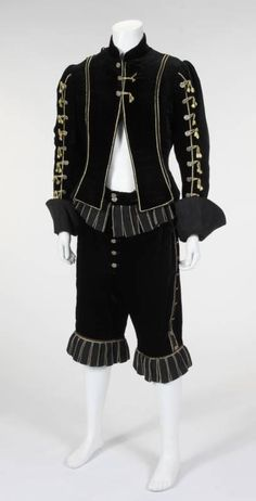"Costume worn by Richard Chamberlain as Aramis in ""The Four Musketeers: Milady's Revenge"" (1974)."