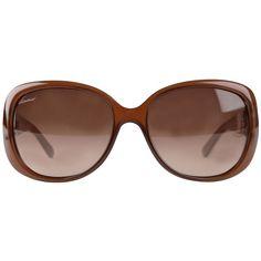 GUCCI Signature Gg Oval Framed Sunglasses Vitrine De Moda, Oculos De Sol,  Óculos De 40ecda45f8