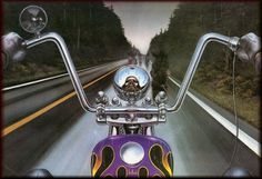David Mann Motorcycle Art   Recent Photos The Commons Getty Collection Galleries World Map App ...