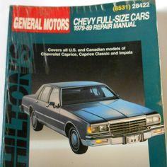 chiltons auto repair manual 1979 american cars 1972 1979 shop rh pinterest com 1991 chevy caprice repair manual chevy caprice owners manual