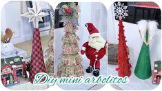 COMO HACER MINI ARBOLES PARA DECORAR LAS MESAS EN NAVIDAD 2019 // FACILE... Navidad Diy, 4th Of July Wreath, Elf On The Shelf, Mini, Christmas Stockings, Joy, Wreaths, Holiday Decor, Flowers