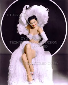 CYD CHARISSE TECHNICOLOR CONVERSION BY BEDAZZZLED PREVIOUSLY POOR QUALITY PRINT