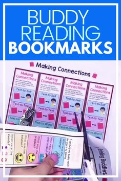 Is your Daily 5 Buddy Reading Center as effective as you'd like for it to be? These reading buddies bookmarks are guaranteed to lead to more student engagement. Elementary students can practice decoding unknown words, answering comprehension questions, making connections, and retelling stories with these bookmarks. Reading response sheets are also available for additional accountability. A must-have for your reading workshop! #thereadingroundup #literacycenters #readingbuddies 2nd Grade Ela, Third Grade Reading, Student Reading, Fourth Grade, Second Grade, Reading Centers, Reading Workshop, Literacy Centers, Partner Reading