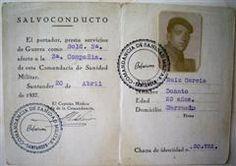 Spain - 1937. - GC - salvoconducto