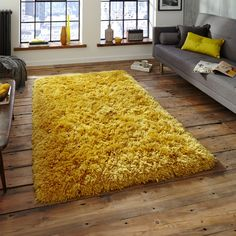 Think_Polar_PL95_Rug_in_Yellow