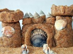 Everlasting Sandcastles are fun beach crafts that you can take home to decorate an ocean-themed bathroom or bedroom. Kids will love learning how to build a sandcastle that won't wash away with the tide. Make sand art like this wonderful fortress this summer or beat the winter blues at home.