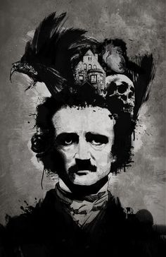 "I will never forget the amazingly judge mental look I got in 3rd grade when I responded ""Edgar Allen Poe"" to the question ""who is your favorite author?"" Here's to keeping it honest and weird for a life time and beautiful macabre words."