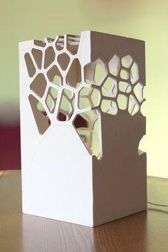 Table lamp, Laser cut playwood night light, Lighting Design, Designer light… - Rüveyda Uslu - Welcome to the World of Decor!