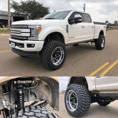 """Fabtech Motorsports on Instagram: """"Ford Super Duty equipped with a Fabtech 6"""" Radius Arm System and Dirt Logic 2.5 Resi Coilovers! 📸: @xtremerpm / @elijah_rdz11"""" Radius Arm, Ford Super Duty, Lifted Ford, Monster Trucks, Arms, Around The Worlds, Photo And Video, Instagram, Videos"""