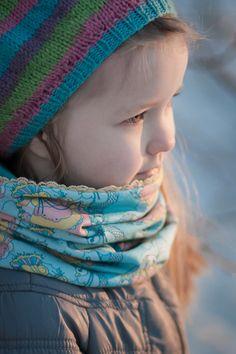 Infinity scarf / Lasten tuubihuivi | Poutapukimo