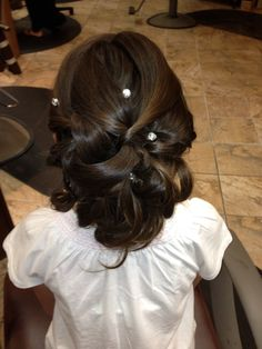 Hairstyle for First Communion