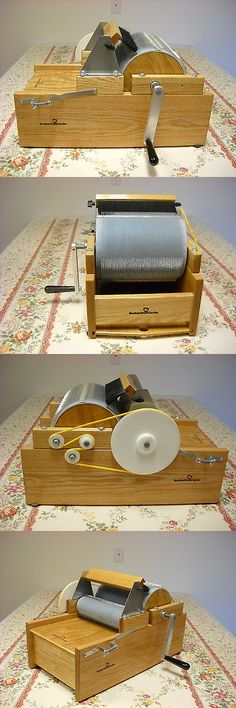 Little brother Motorized Medium//Fine tooth electric wool motorized drum carder