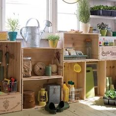 Image result for garden shed ideas interior