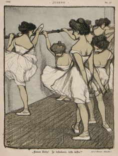 Jugend Zeitschrift Nr. 27, 1900