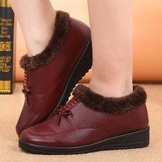 Rhinestone Bowknot Fur Lining Warm Short Boots Bottes De Neige D hiver b99d8b08f88