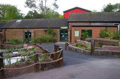 Amphibian Ark Outdoor Exhibit © Scott Pooley, 2011 Paignton Zoo Environmental Park