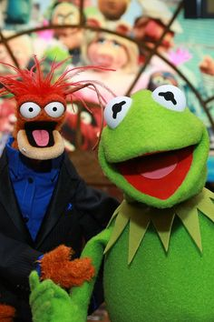 """Everybody needs somebody to believe in them. I got lucky. I got the frog, okay."" -Pepe the King Prawn: ""It's Hard Out Here for ..."
