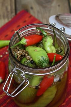 Pickled Chilli Peppers
