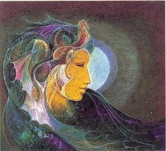 Incan Goddess Mama Cocha ~ Goddess of the sea. Reminds me of Z.