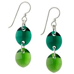 No Leaf Unturned Earrings | Fusion Beads Inspiration Gallery  #Earthday
