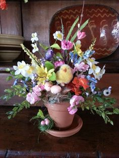 Easter Flower Arrangements Easter Flowers Easter Crafts For Toddlers Easter Activities Easter Table Easter Decor Easter Ideas Hoppy Easter Easter Bunny Easter Projects, Easter Crafts, Holiday Crafts, Easter Decor, Easter Ideas, Easter Flower Arrangements, Easter Flowers, Floral Arrangements, Easter Fabric