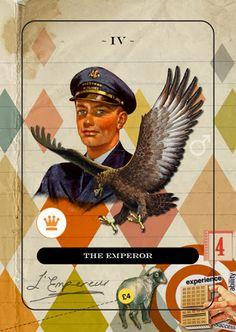 The Emperor - Jordan Clarke's Tarot Deck - rozamira tarot - Picasa Web Albums