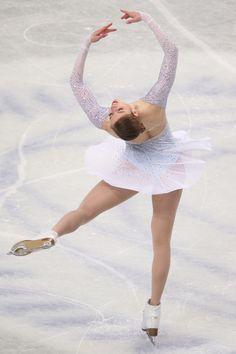 Carolina Kostner of Italy competes in the Ladies Short Program during ISU World Figure Skating Championships at Saitama Super Arena on March 27, 2014 in Saitama, Japan.
