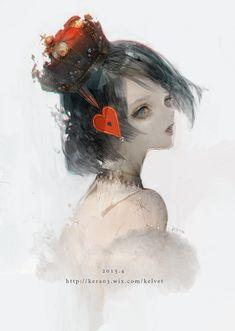 Kera on Character Drawing, Character Illustration, Character Design, Illustration Art, Illustrations, Anime Fantasy, Fantasy Art, Ship Drawing, Alice