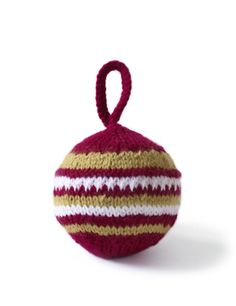 Knitted ornament free pattern