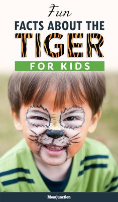 Is your kid an ardent tiger-lover? Does he wants to know information about this majestic beast? Read here collection of some fun tiger facts for kids. Fun Facts About Tigers, Tiger Facts For Kids, Animal Facts For Kids, Fun Facts For Kids, Animals For Kids, Jungle Animals, Animal Fact File, Tiger Habitat