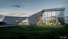 Muzeum Lotnictwa Polskiego w Krakowie. Projekt: Pysall.Ruge Architekten oraz Bartłomiej Kisielewski. Zdjęcia: P. Piątek