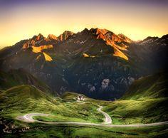 Alpine Roads by Joris H. Janssen on 500px