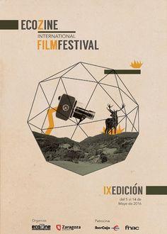 Cartel Finalista 9ª edicion  Ecozine 2016 Titulo: Ecoverde Autor: Eva Felipe Coloma