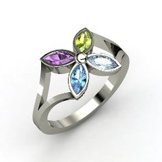 mother's jewelry...would be really cute to have one stone for each of us(though 3 of us were born in the same month).