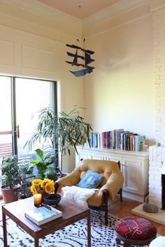 Tour A Boston Home Inspired By Travel All Things Beautiful Eclectic Living RoomLiving