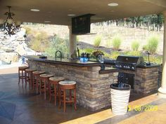 love this outdoor kitchen for the home pinterest outdoor kitchen design and kitchens - Simple Outdoor Kitchen Ideas