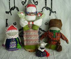 Куколки на достаток: Крупеничка, Богач, Хозяюшка-благополучница и Кукла для купцов.