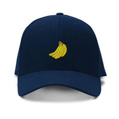 more photos 7ef4e 01966 Bananas Embroidery Embroidered Adjustable Hat Baseball Cap