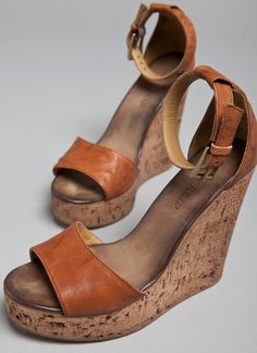 billy reid wedges // brown // cork