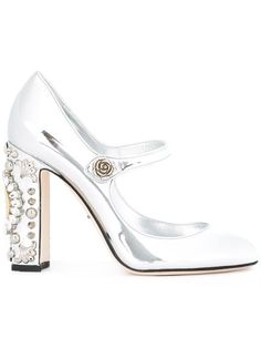 Shop Dolce & Gabbana 'Vally' Mary Jane pumps. 995 euro shes scarpe c'factor choice personal shopper follow me