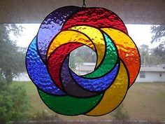 Beautiful handmade stained glass suncatcherBUTTERFLY, made with Tiffany Glass, and ready to hang. Stained Glass Suncatchers, Stained Glass Crafts, Faux Stained Glass, Stained Glass Designs, Stained Glass Panels, Stained Glass Patterns, Mosaic Art, Mosaic Glass, Tiffany Glass